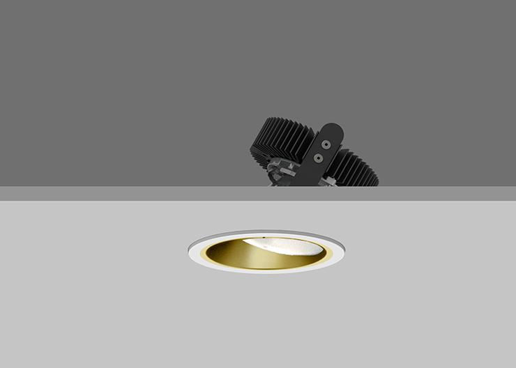 Ambiance X100  Lens Wallwasher - Gold